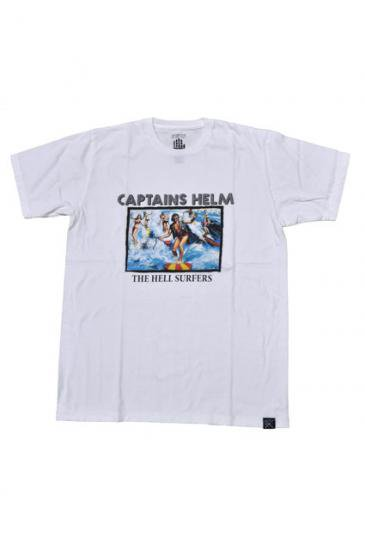 <img class='new_mark_img1' src='https://img.shop-pro.jp/img/new/icons50.gif' style='border:none;display:inline;margin:0px;padding:0px;width:auto;' />CAPTAINS HELM HELL SUPPOURT TEE(WHITE)