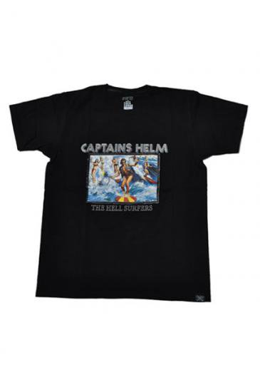 <img class='new_mark_img1' src='https://img.shop-pro.jp/img/new/icons50.gif' style='border:none;display:inline;margin:0px;padding:0px;width:auto;' />CAPTAINS HELM HELL SUPPOURT TEE(BLACK)