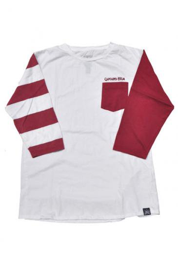 <img class='new_mark_img1' src='https://img.shop-pro.jp/img/new/icons50.gif' style='border:none;display:inline;margin:0px;padding:0px;width:auto;' />CAPTAINS HELM CHT BORDER Q/S TEE(BGD)