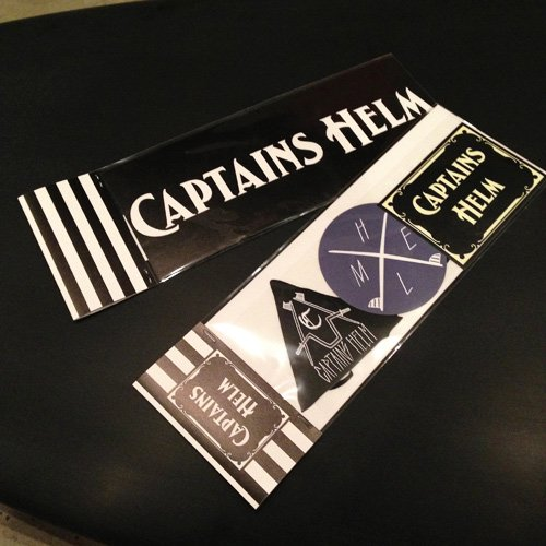 <img class='new_mark_img1' src='//img.shop-pro.jp/img/new/icons50.gif' style='border:none;display:inline;margin:0px;padding:0px;width:auto;' />CAPTAINS HELM CHT STICKER SET-A