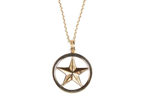 <img class='new_mark_img1' src='//img.shop-pro.jp/img/new/icons50.gif' style='border:none;display:inline;margin:0px;padding:0px;width:auto;' />STANDARD CALIFORNIA SD MADE IN USA STAR NECKLACE GOLD