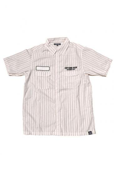 <img class='new_mark_img1' src='https://img.shop-pro.jp/img/new/icons50.gif' style='border:none;display:inline;margin:0px;padding:0px;width:auto;' />CAPTAINS HELM CHT FACTORY SHIRTS(OFF WHITE)
