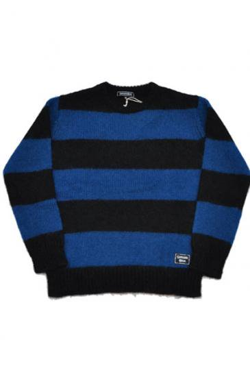 <img class='new_mark_img1' src='https://img.shop-pro.jp/img/new/icons50.gif' style='border:none;display:inline;margin:0px;padding:0px;width:auto;' />CAPTAINS HELM CHT BODER MOHAIR SWEATER(BLUE)