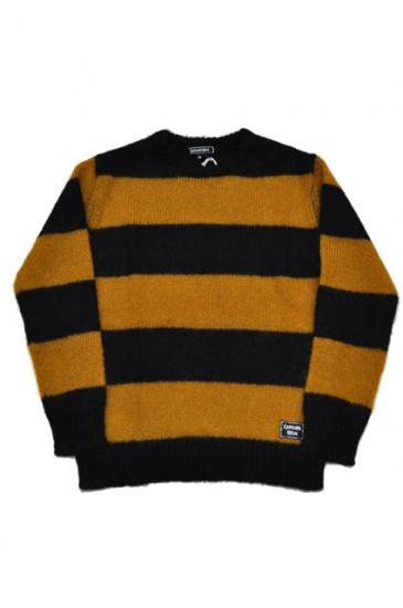 <img class='new_mark_img1' src='https://img.shop-pro.jp/img/new/icons50.gif' style='border:none;display:inline;margin:0px;padding:0px;width:auto;' />CAPTAINS HELM CHT BODER MOHAIR SWEATER(MUSTARD)