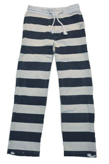 <img class='new_mark_img1' src='https://img.shop-pro.jp/img/new/icons50.gif' style='border:none;display:inline;margin:0px;padding:0px;width:auto;' />CAPTAINS HELM CHT JAIL SWEAT PANTS(BK/WH)