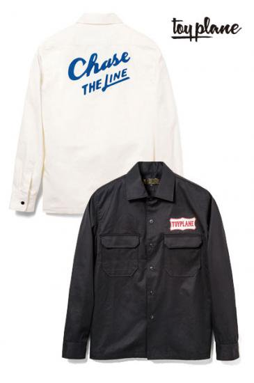 <img class='new_mark_img1' src='https://img.shop-pro.jp/img/new/icons50.gif' style='border:none;display:inline;margin:0px;padding:0px;width:auto;' />TOYPLANE L/S BIG FLAP WORK SHIRTS