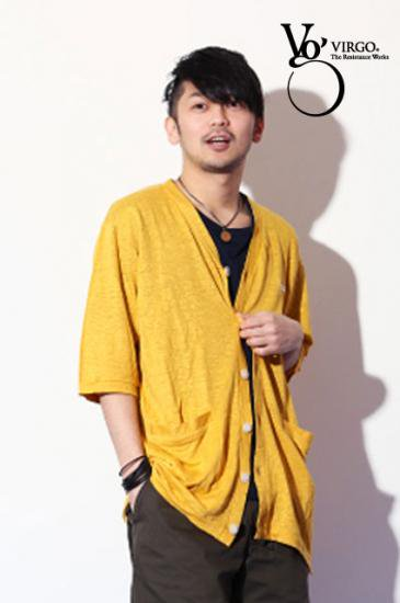 <img class='new_mark_img1' src='https://img.shop-pro.jp/img/new/icons50.gif' style='border:none;display:inline;margin:0px;padding:0px;width:auto;' />VIRGO Ancle hemp cardigan