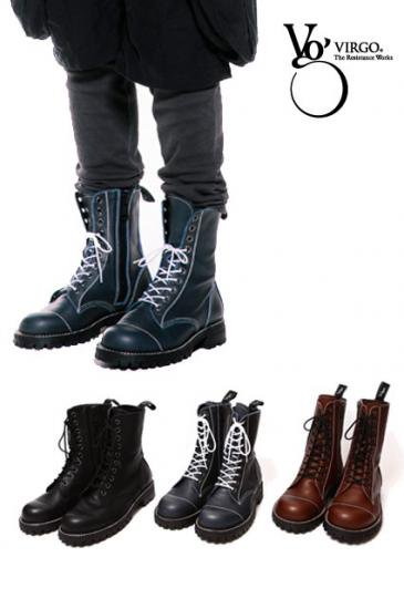 <img class='new_mark_img1' src='//img.shop-pro.jp/img/new/icons50.gif' style='border:none;display:inline;margin:0px;padding:0px;width:auto;' />VIRGO MILITARIA SPECIAL LEATHER BOOTS
