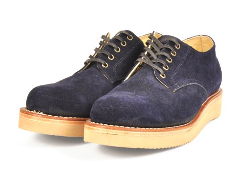 <img class='new_mark_img1' src='https://img.shop-pro.jp/img/new/icons50.gif' style='border:none;display:inline;margin:0px;padding:0px;width:auto;' />SANTA ROSA #DIXON-OXFORD BOOTS SUEDE(NAVY)