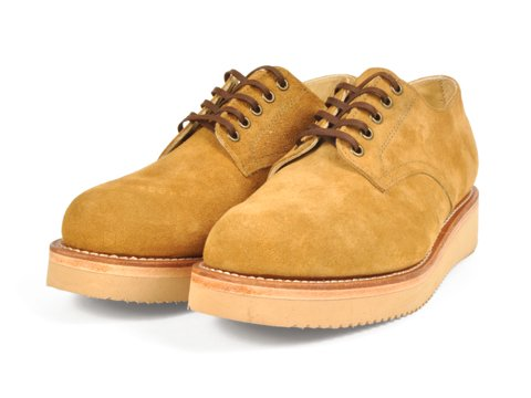 <img class='new_mark_img1' src='//img.shop-pro.jp/img/new/icons50.gif' style='border:none;display:inline;margin:0px;padding:0px;width:auto;' />SANTA ROSA #DIXON-OXFORD BOOTS SUEDE(BROWN)