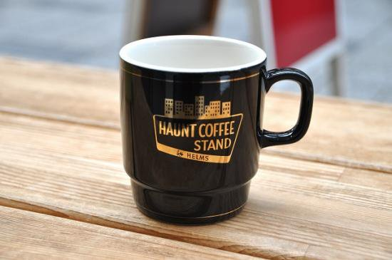 <img class='new_mark_img1' src='//img.shop-pro.jp/img/new/icons50.gif' style='border:none;display:inline;margin:0px;padding:0px;width:auto;' />CAPTAINS HELM HAUNT COFFEE STAND by HELMS #STACKING MUG