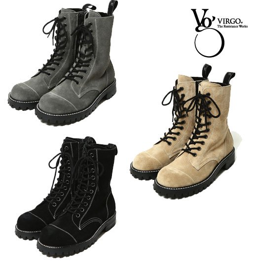<img class='new_mark_img1' src='https://img.shop-pro.jp/img/new/icons50.gif' style='border:none;display:inline;margin:0px;padding:0px;width:auto;' />VIRGO Militaria special boots neo