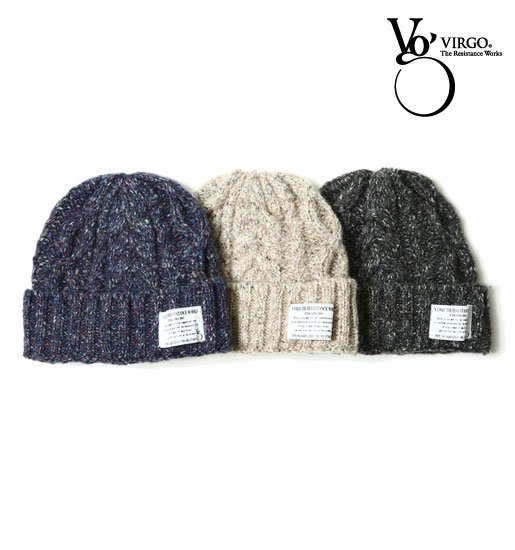 <img class='new_mark_img1' src='https://img.shop-pro.jp/img/new/icons50.gif' style='border:none;display:inline;margin:0px;padding:0px;width:auto;' />VIRGO Fluffy chip knit cap
