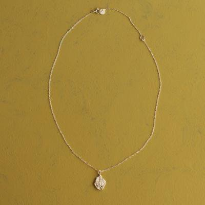 fusa necklace small  silver