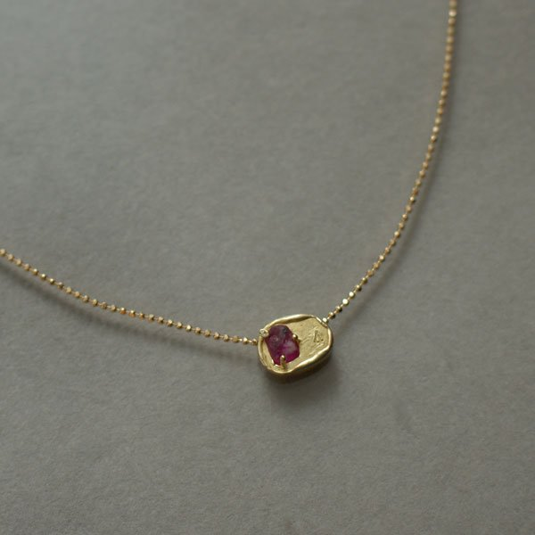 ruby+4 necklace