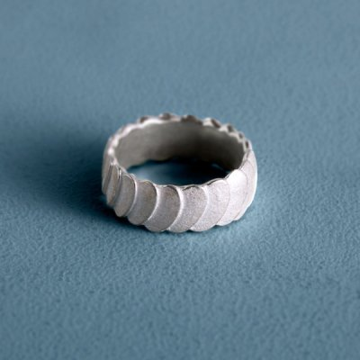 Pattern Ring silver