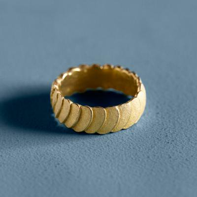 Pattern Ring bronze