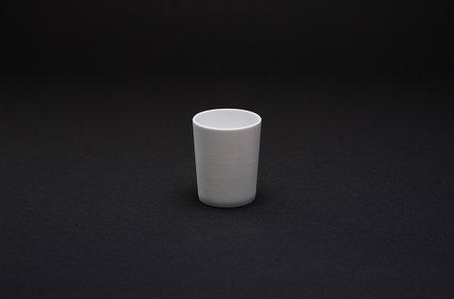 白磁カットコップ(猪口)