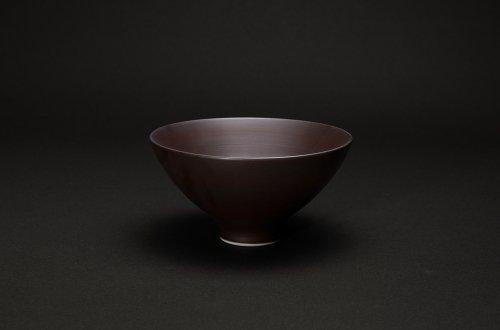 磁器の飯碗 茶巻き