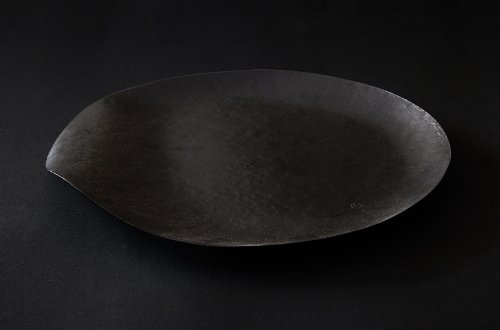 nuri WASARA 丸皿 黒