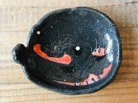 アカハライモリのまんまる皿