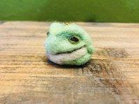 羊毛ストラップ アマガエル