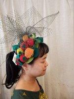 サビトマトガエルのヘッドドレス