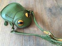 カエルバック(小物入れ)緑