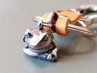 考蛙のキーリング
