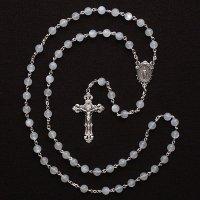 ムーンストーン 聖母マリアのロザリオ(シルバー925製)