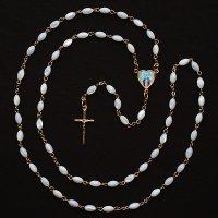 マザーオブパール 無原罪のマリアのロザリオ
