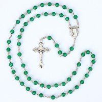 グリーンオニキス 聖母マリアのロザリオ