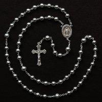 T様オーダーメイド シルバービーズ 聖母マリアのロザリオ3(シルバー925製)