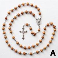 K様 オーダーメイド 白檀 聖母マリアのロザリオA