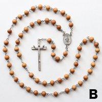 K様 オーダーメイド 白檀 聖母マリアのロザリオB