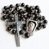 黒檀 聖ピオ神父のロザリオ