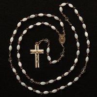 N様オーダーメイド マザーオブパール 聖母マリアのロザリオ