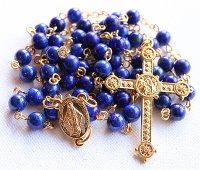 ラピスラズリ 聖母マリアのロザリオ