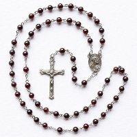 ガーネット イエスの聖心のロザリオ