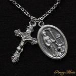 O様 オーダーメイド 幼子イエスと聖母マリアのネックレス