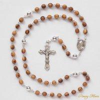T様オーダーメイド オリーブの木 イエスの聖心のロザリオ(シルバー925製)