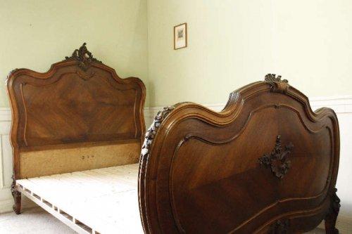 ルイ15世様式ベッドフレームsok32g