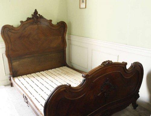 ルイ15世様式ベッドフレームsok33g
