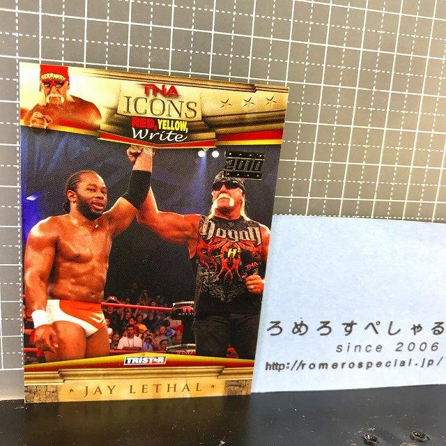 TNA/ICONS∞◆♯36ジェイリーサル/Jay Lethal&ハルクホーガン【TRISTARトレーディングカード】