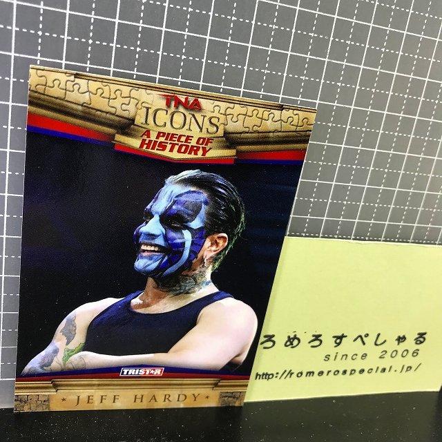 TNA/ICONS∞◆♯84ジェフハーディー/Jeff Hardy×ハルクホーガン/Hulk Hogan【TRISTARプロレストレーディングカード】WWE/WWF/新日本プロ…