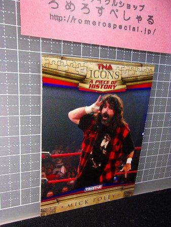 TNA/ICONS∞◆♯85ミックフォーリー/Mick Foley×ハルクホーガン/Hulk Hogan【TRISTARプロレストレーディングカード】WWE/WWF/新日本プロ…