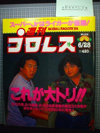 ●週刊プロレス618号(1994/6/28)長州力/橋本真也