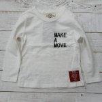 【PARK】パーク アメカジ MAKE A MOVE 長袖Tシャツ オフシロ (PA19-103-OW)