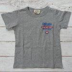 【EAST BLUE】イーストブルー アメカジ AIRFORORCE 半袖Tシャツ 杢グレー (E33140-MG)