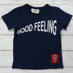 【PARK】パーク アメカジ GOOD FEELING 半袖Tシャツ ネイビー (PA19-201-NB)